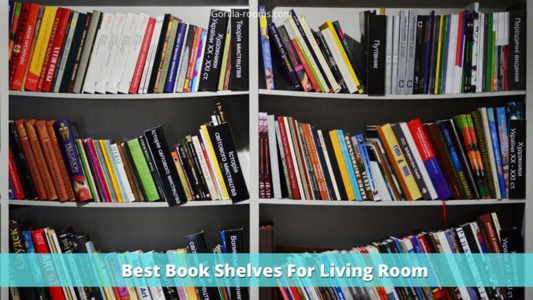 Best Book Shelves For Living Room