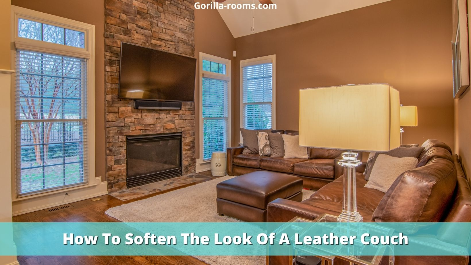 How To Soften The Look Of A Leather Couch