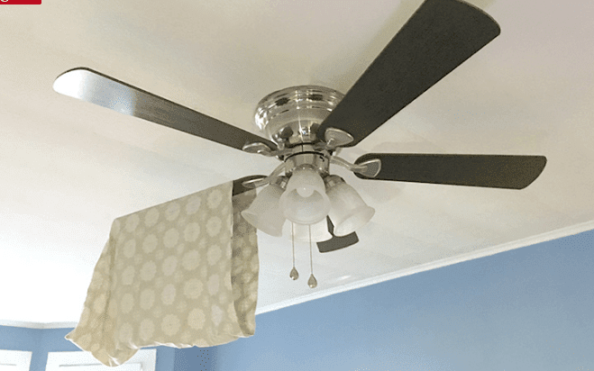 how to ceiling fan without ladder