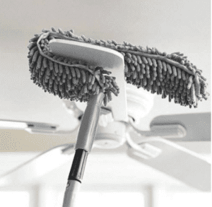 how to clean ceiling floor