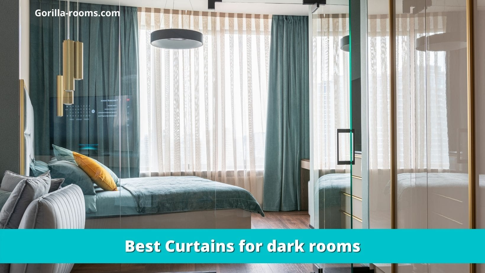 Best Curtains for dark rooms