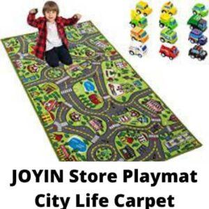 JOYIN Store Playmat City Life Carpet