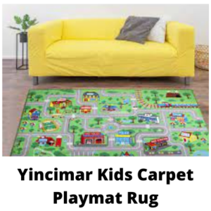 5- Yincimar Kids Carpet Playmat Rug