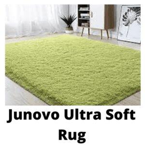 6- Junovo Ultra Soft Rug