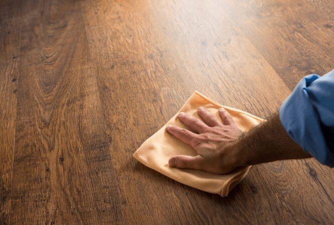 Clean Vinyl Floors With Vinegar