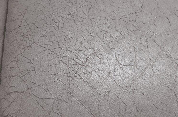 leather sofa cracking